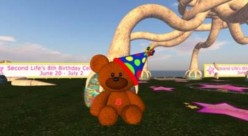 Second Life birthday parties (SLxB)