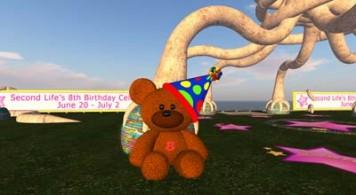 Second Life birthday parties (SLxB)